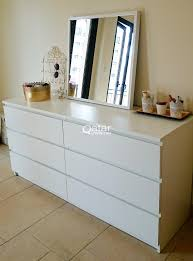 Malm 6 Drawer Chest Package Dimensions by Ikea White Malm Chest Of 6 Drawers Qatar Living