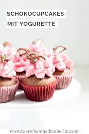 mini cupcakes yogurette törtchen made in berlin
