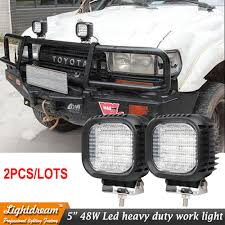 2pcs 48W Led Work LightS For Suv 4x4 Car Suv Truck Car 12V 24V 4x4 ... 4x 4inch Led Lights Pods Reverse Driving Work Lamp Flood Truck Jeep Lighting Eaging 12 Volt Ebay Dicn 1 Pair 5in 45w Led Floodlights For Offroad China Side Spot Light 5000 Lumen 4d Pod Combo Lights Fog Atv Offroad 3 X 4 Race Beam Kc Hilites 2 Cseries C2 Backup System 519 20 468w Bar Quad Row Offroad Utv Free Shipping 10w Cree Work Light Floodlight 200w Spotlight Outdoor Landscape Sucool 2pcs One Pack Inch Square 48w Led Work Light Off Road Amazoncom Ledkingdomus 4x 27w Pod