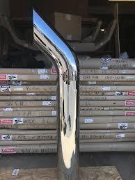 100 Truck Exhaust Stacks Peterbilt Kenworth Freightliner Chrome Stack Curved 8x60
