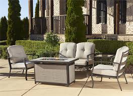 Patio Furniture Under 30000 by Outdoor Patio Furniture Set With A Fire Pit 8 Designs Outdoor