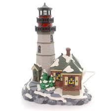 Dept 56 Halloween Village Ebay by Department 56 House Christmas Cove Lighthouse Village Lighted