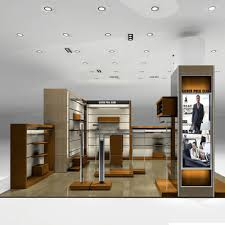 Factory Made Clothing Display Ideas With Menswear Shop Interior Design