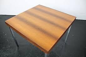 wk möbel palisander esszimmertisch tisch chromgestell