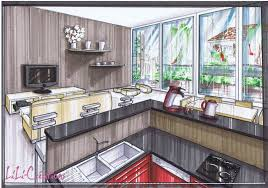 cuisine et salon dans la meme le de elise fossoux décoration architecture d intérieur