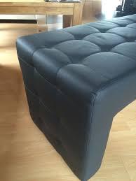esszimmer stühle optik leder grau in 64546 mörfelden