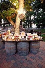 Rustic Wedding Dessert Table Decoration Ideas Decorations On A Budget