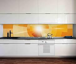 aufkleber küchenrückwand malerei bunte farben kreis abstrakt