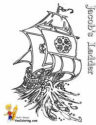 Print Off Jacobs Ladder Tall Ship Picture At YesColoring