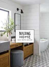 Building Home: Half Bath Design | Fresh Exchange 59 Phomenal Powder Room Ideas Half Bath Designs Home Interior Exterior Charming Small Bathroom 4 Ft Design Unique Cversion Gutted X 6 Foot Tiny Fresh Groovy Half Bathroom Ideas Also With A Designs For Small Bathrooms Wascoting And Tiling A Hgtv Pertaing To 41 Cool You Should See In 2019 Verb White Glass Tile Backsplash Cheap 37 Latest Diy Homyfeed Rustic Macyclingcom Warm Or Hgtv With
