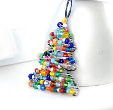 Beaded Christmas Tree Ornament Wire