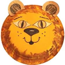 Easy Paper Plate Lion Craft