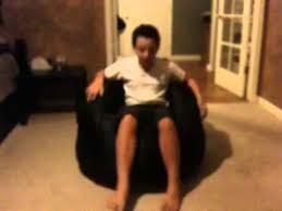 big joe lumin lounge chair review youtube