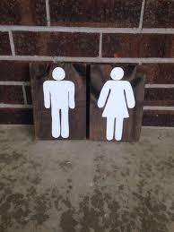 Funny Bathroom Door Art by Bathroom Decor Wooden Sign Bathroom Sign Rustic Decor