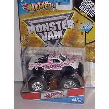 100 Madusa Monster Truck Toy 2011 HOT WHEELS 164 SCALE PINK RIBBON MADUSA TATTOO MONSTER JAM