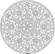 Coloring Pages Adults Geometric Free Printable For Pdf Print Out