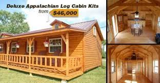 Appalachian Log Cabin Kit only $46 000 MUST SEE INSIDE
