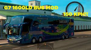 Bus Mod High Speed Test Run | Euro Truck Simulator 2 (1.25.2.6s) W ...