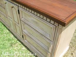 How to Paint Distress and Antique a Piece Furniture