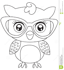 More Eyeglasses Colouring Pages