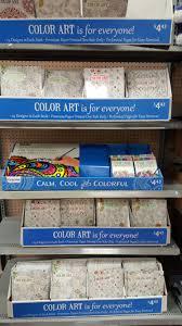 Coloring Book Display At Walmart