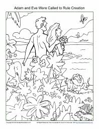 Pages About Free Creation Coloring Page Printable And God Made Animals