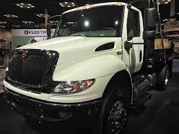 100 International Trucks Indianapolis Truck Presents Its MV Series Work Truck