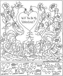 Hidden Pictures Printables Coloring Pages Throughout Christmas 2017