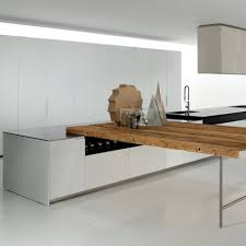 boffi cuisine cuisine duemilaotto en bois et inox boffi cuisine en