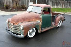 100 1951 Chevy Truck For Sale 1950 Chevrolet Pick UpWhitewallsPatinaRat Rod194919521953