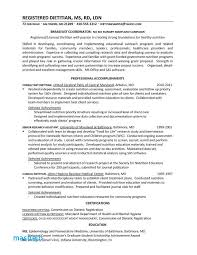 Registered Dietitian Resume Example Delectable Samples Better Written
