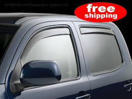 100 Window Visors For Trucks 82389Weather Tech Toyota Tacoma Double Cab 05FREE