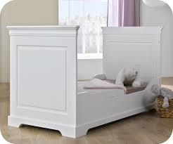 chambre bébé modulable achat vente lit bébé écolutif mel blanc 70x140 cm avec matelas bébé