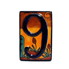 45 best numeros images on ceramic house numbers house