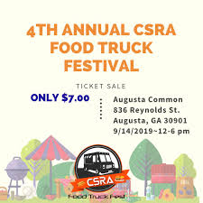 100 Trucks And More Augusta Ga CSRA Food Truck Fest CSRAFoodFest Twitter