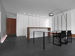 Dining Table Lighting Minimalist Home In Lugano Switzerland By Victor Vasilev