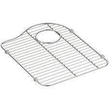 Kohler Executive Chef Sink Rack White by Kohler Hartland Stainless Steel Sink Rack For Right Hand Bowl
