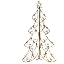 Kohls Artificial Christmas Trees by Metal Christmas Tree Card Holder Polyvore