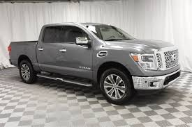 Pre-Owned 2017 Nissan Titan Crew Cab SL 4x4 Truck In Wichita ...