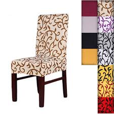 10 Best Dining Room Chair Covers Of 2019 For Elegance - AW2K Summerhill Collection Velvet Plush Ding Chair Covers 3d Pattern Spandex Stretch Short Seat Slipcovers Pique Slipcover Trendy Slipcover Removable Cover Yisun Tile Good Looking Black Cushions For Room Chairs Chair Banquet Ding Covers Table Home Design Ideas How To Make Out Of Pillowcases Simplicity Interesting Leather Details About 2pcs Onepiece Pu Lace Waterproof E7t6
