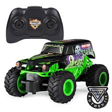 100 Monster Trucks Rc Amazoncom Jam Official Grave Digger Remote Control