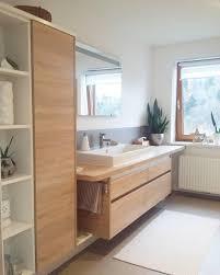 badezimmer waschtisch holz eiche betonoptik ba