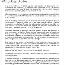 Ascenso MX La Carta De La AMF Que Pide El Ascenso Y No El