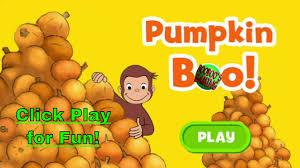 Daniel Tiger Pumpkin by Curious George Pumpkin Boo Pbskids Preschoollearning Halloween