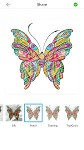 Adult Butterfly Coloring Pages 1 2
