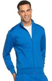 Ceil Blue Print Scrub Jackets by Men U0027s Scrub Jackets Allheart Com