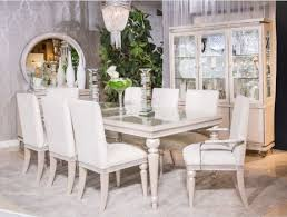 Michael Amini Living Room Sets by Glimmering Heights Dining Set By Michael Amini