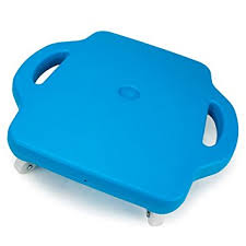 16quot Blue Gym Class Scooter Board With Safety Handles By K Roo Sports