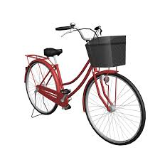 Women Red Bicycle Transparent Png Stickpng