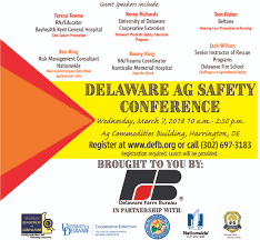 bureau am ag ag safety conference planned march 7 in harrington delaware farm